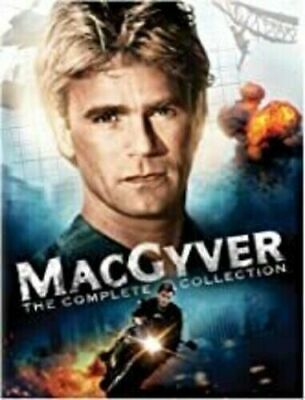 $123.99 • Buy MacGyver Complete Collection Series Season 1-7 DVD SET Episodes Lot Box TV Show