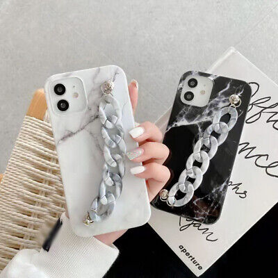 AU5.65 • Buy Marble Silicone Case For IPhone 12 Mini 11 Pro Max XS XR 8 7 X SE Bracelet Cover