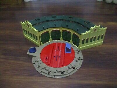 £25.99 • Buy Trackmaster Thomas The Tank Engine Tidmouth Sheds With Turntable