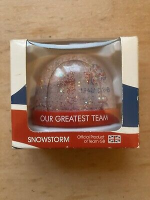 £3 • Buy Team GB Snowstorm Globe London Olympics 2012. Official Merchandise.