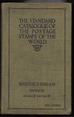 £0.99 • Buy Stamp Catalogue. Postage Stamps Of The World. 1932 Whitfield King. (1913)