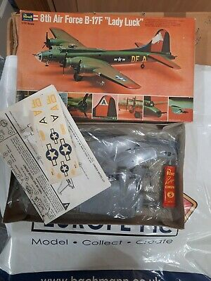 £25 • Buy Revell 8th Air Force Boeing B-17F 'Lady Luck'. Sealed Contents.