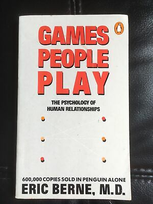 £8 • Buy Games People Play: The Psychology Of Human Relationships By Eric Berne...