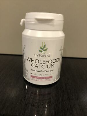 £16.20 • Buy Cytoplan Calcium Wholefood From Calcified Seaweed 200mg Elemental 60 Capsules