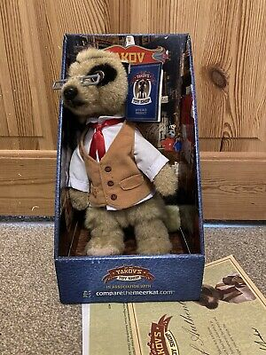 £3.99 • Buy Safari Yakov Meerkat Toy Compare The Market With Certificate