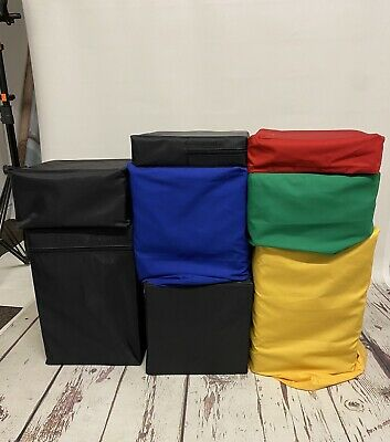 £100 • Buy Luxs Posing Blocks This Is 2 Set With Removable Coloured Covers On Some