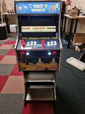 £879.99 • Buy Custom Arcade Machine 2 Player - Space Invaders Theme 8000 Games - AG PRO 8000