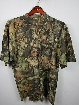 £17.25 • Buy Vintage Sasquatch Advantage Timber Camouflage Hunting Outdoor T-Shirt XL USA