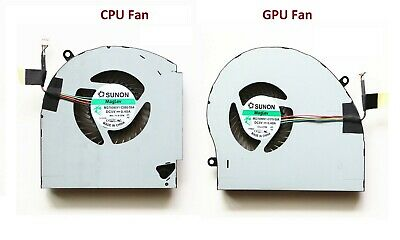 $ CDN49.99 • Buy New For Dell Alienware 17 R4 17 R5 CPU + GPU Cooling Fan