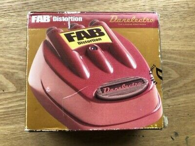 $ CDN10.91 • Buy Danelectro D-1 FAB Distortion Guitar Effects Pedal Boxed