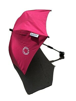 £5.10 • Buy Genuine BUGABOO BEE Parasol. Pink. With Clip