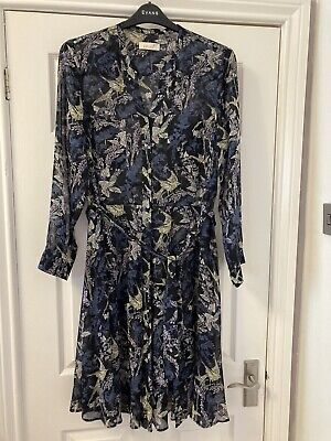 £3.50 • Buy Marks And Spencer Per Una Plus Size 18 Floaty Calf Length Dress Midi
