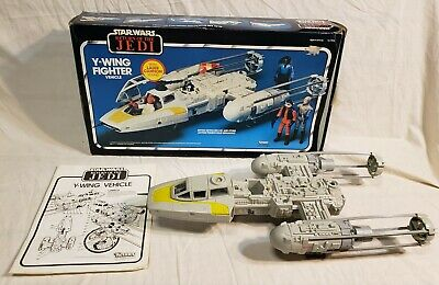 $ CDN60.50 • Buy Vintage Kenner Star Wars ROTJ 1983 Y-WING FIGHTER W/ Box 100% Working Incomplete