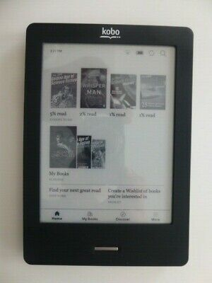 £29.50 • Buy Kobo Touch E-reader Model N905C In Black. New Case & Charger Bundle
