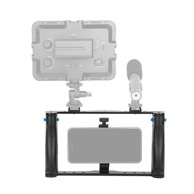 £18.06 • Buy Video Camera Cage Stabilizer Handgrip Film Making Rig+Clip For IPhone DSLR M3X6