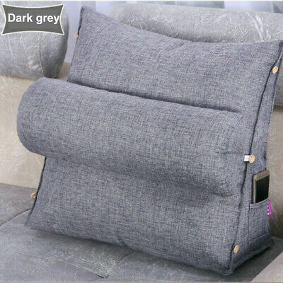 AU1.10 • Buy Adjustable Back Wedge Cushion Pillow Sofa Bed Office Chair Rest Neck Support AU
