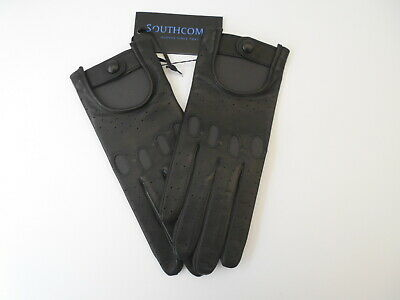 £19.99 • Buy New Women's Southcombe Lamb Nappa Leather Unlined Driving Gloves Small Black.