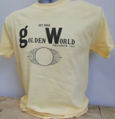 £11.95 • Buy Golden World Records T Shirt Music 1960s Mirwood Okeh Ric-Tic Northern Soul Y245