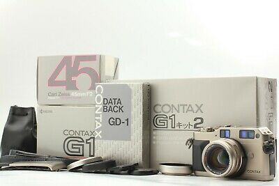$ CDN1076.84 • Buy [TOP MINT IN BOX] CONTAX G1 Green Label + 45mm F/2 + GD-1 From JAPAN #2251