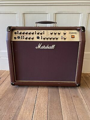 £320 • Buy Marshall Amp AS100D Guitar Stereo Acoustic Leather Brown Excellent Condition