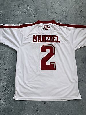 £50 • Buy Mens Texas A&M Cotton Bowl Victory 2013 Manziel Jersey Goodish Condition Large