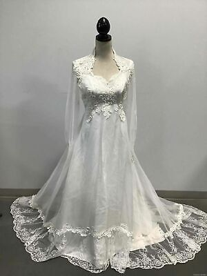 $ CDN54.45 • Buy Ladies White Wedding Gown Size 12
