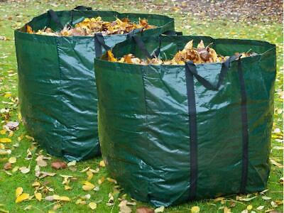 £7.39 • Buy 2 X 150L Garden Waste Bags - Heavy Duty Large Refuse Storage Sacks With Handles