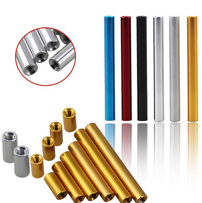£2.99 • Buy Threaded Spacers Insert Bush Standoff End Rod Aluminum Alloy Round M3 Anodizing