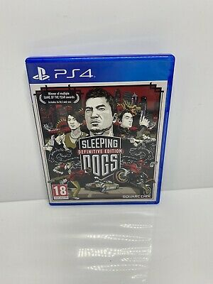 £11.99 • Buy Sleeping Dogs Definitive Edition - PS4 - Very Good Condition - 1st Class
