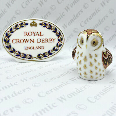 $ CDN93.75 • Buy Royal Crown Derby Collective Guild 'Owlet' Paperweight - Gold Stopper