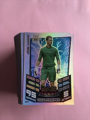 £9.99 • Buy Match Attax Extra 2012/2013 12/13 Joe Hart Manchester City Limited Edition X 120