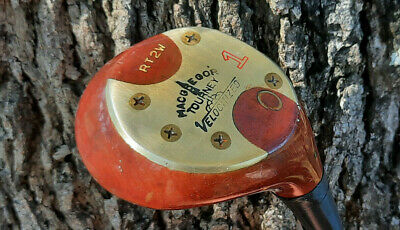 $14.99 • Buy Sweet Vintage Macgregor Rt2w Tourney Velocitized Persimmon Driver Stiff Steel B5