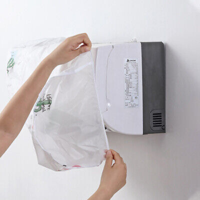 AU5.01 • Buy Waterproof Cleaning Cover For Air Conditioner1pc Dust-proof Cover Home Supplies