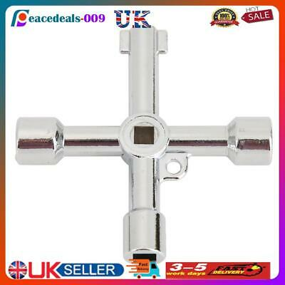 £4.99 • Buy Universal Triangle Square Key Wrench Plumber Keys For Gas Electric Meter UK