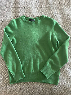 £30 • Buy M&S Autograph Emerald Green Cashmere Jumper Size 10 Sold Out