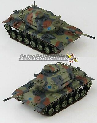 $109.99 • Buy HOBBY MASTER HG5608 M60A1 Patton Tank West Germany 1990s 1:72 Die-Cast