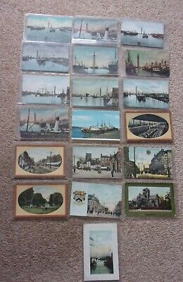 £12.99 • Buy Old Grimsby Postcards X 23 All In Plastic Sleeves. Majority Are Of The Docks