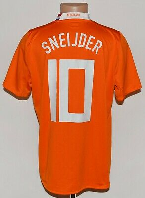 £79.99 • Buy Holland 2008/2009 Home Football Shirt Jersey Nike Sneijder #10 Size L Adult
