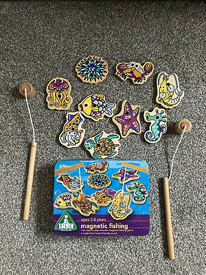 £4.50 • Buy Childrens ELC Wooden Magnetic Fishing Game,  Ages 3-8 Years