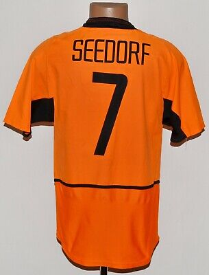 £99.99 • Buy Holland National Team 2002/2004 Home Football Shirt Jersey Seedorf #7 Size S