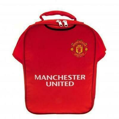 £7.99 • Buy Manchester United Official Football Kit Lunch Box Cool Bag Back To School