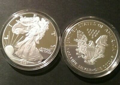 AU35 • Buy 2021 American Eagle 1oz Silver Plated Gift Coin