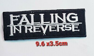£1.85 • Buy Falling In Reverse Rock Music Band No Embroidered Iron Or Sew On Patch