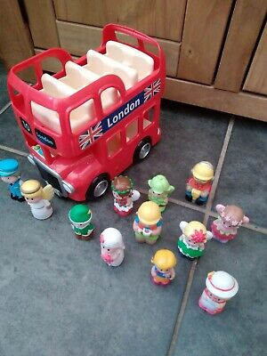 £16.50 • Buy Happyland London Bus With Figures And Sounds