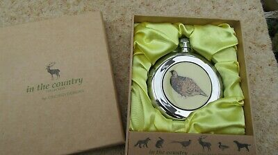£25 • Buy New Orchid Designs Hip Flask Grouse In The Country Boxed Gift Collectable