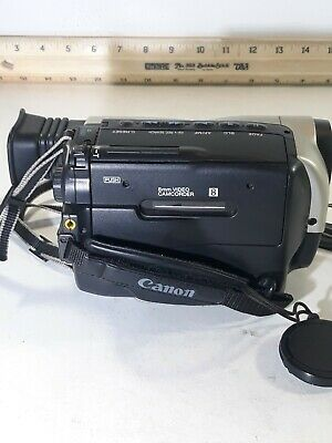 $ CDN80.92 • Buy Canon ES280 8mm Video8 Camcorder Tested Works, Needs Charger And A New Battery