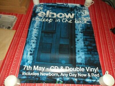 £4.99 • Buy Elbow-asleep In The Back  2001 Album Promo Poster