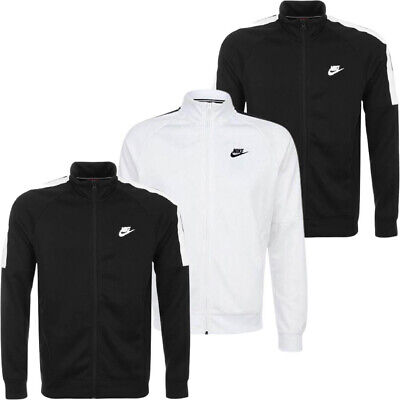 £25.90 • Buy Nike Mens Tracksuit Full Zip Top Tribute Sports Track Jacket Running Tops Size