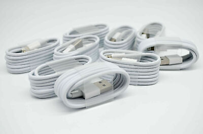 AU8.99 • Buy 5 X Brand New USB Cable Cord Charger For IPhone 5 6 7 8 11 12 Pro Max IPad 1M