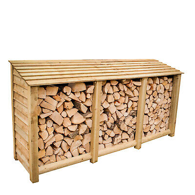£279.99 • Buy Log Store, Extra Large Heavy Duty Pressure Treated